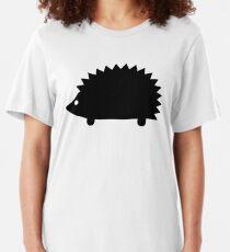 Camiseta ajustada Silueta de erizo