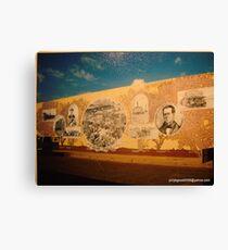 Anson Texas Mural Canvas Print