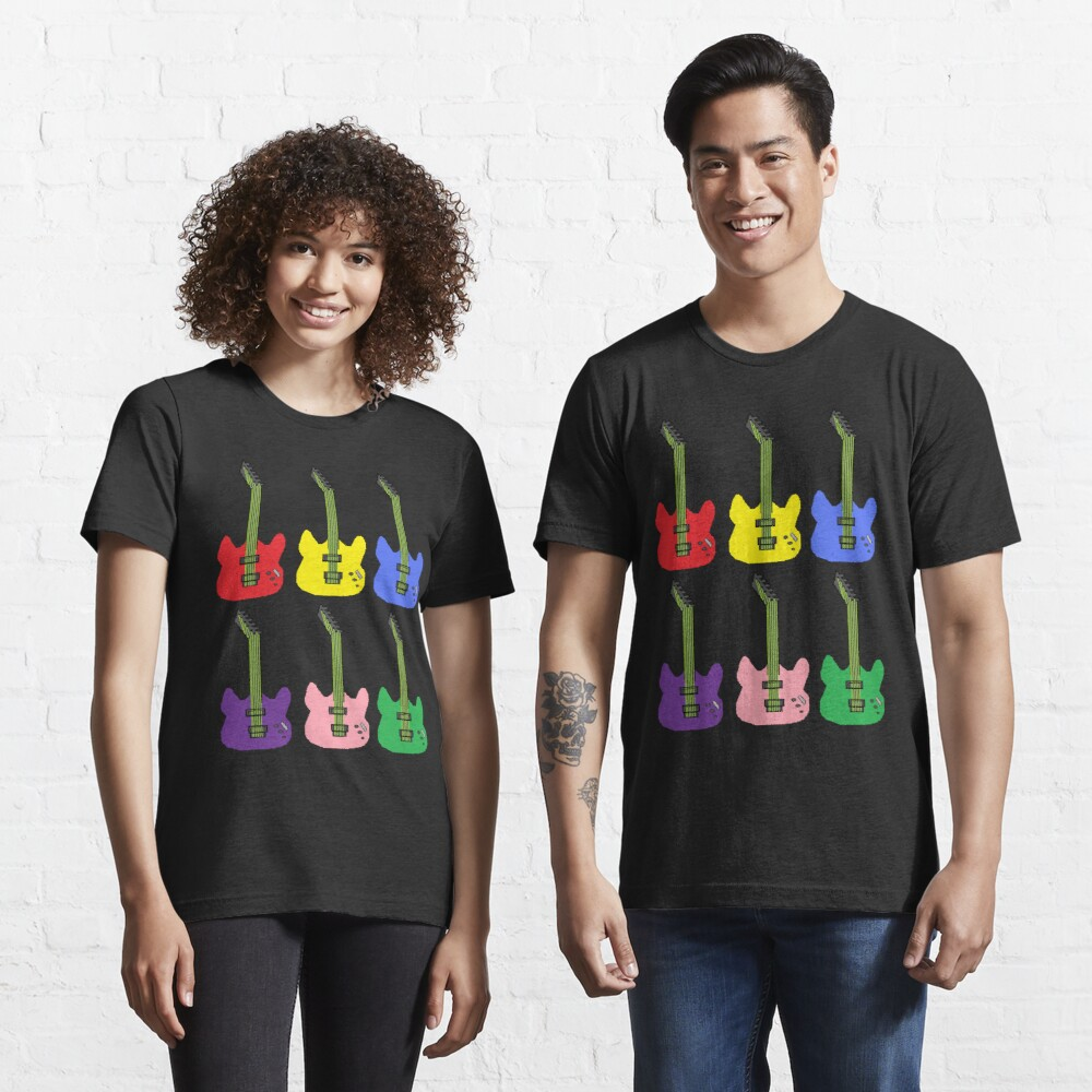 Rainbow Guitar Essential T-Shirt