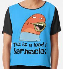 Dies ist eine Last von Barnacles - Spongebob Chiffontop