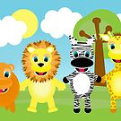 African Animals by Emma Holmes