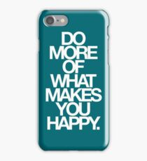 do more. relative iPhone Case/Skin