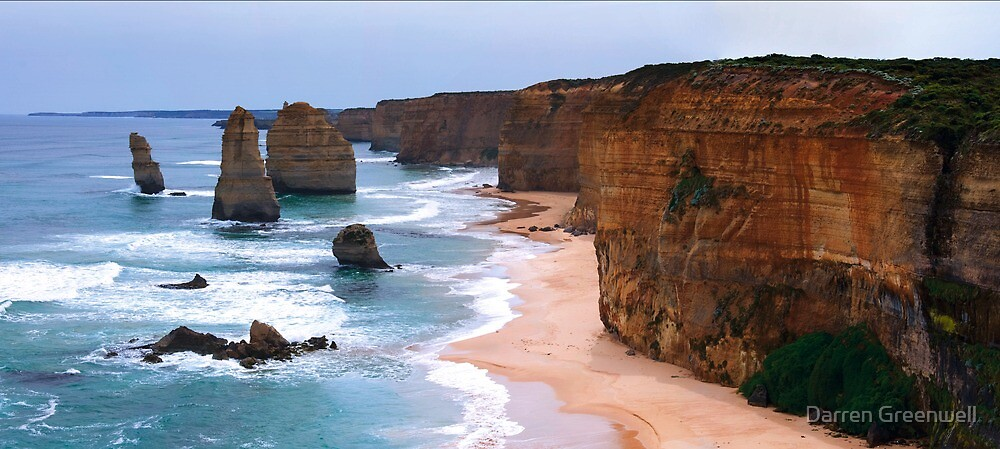 12 Apostles, Port Campbell, Victoria by Darren Greenwell