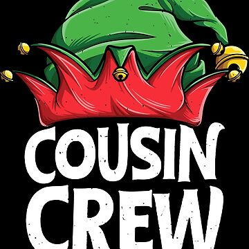 Cousin Crew Elf T shirt Christmas Family Matching Pajamas by LiqueGifts