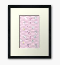 My occupations - Fairy Kei Framed Print