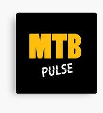 MTB Pulse Canvas Print