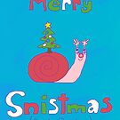 Merry Snistmas (snail christmas) by prucanada