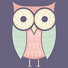 Owl Have Two Doughnuts by Teo Zirinis