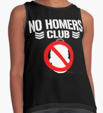 No Homers Club - Bullet Club (white) Contrast Tank