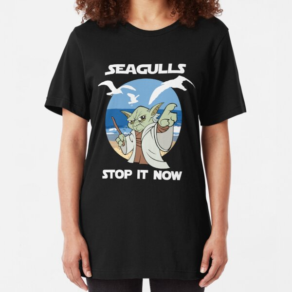 Seagulls, Stop it Now! Slim Fit T-Shirt