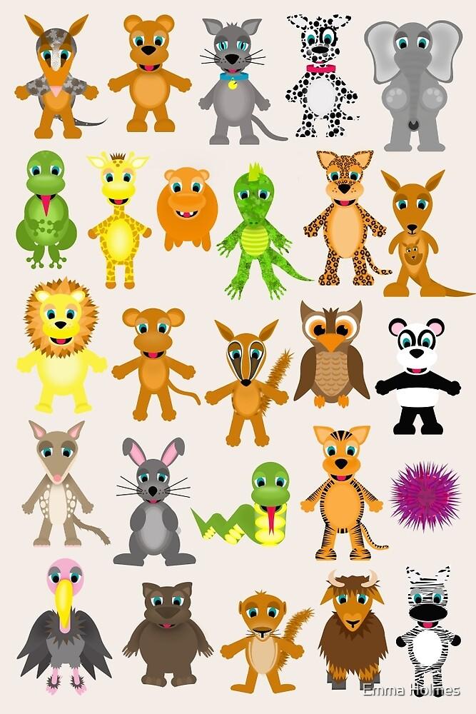 Animals by Emma Holmes