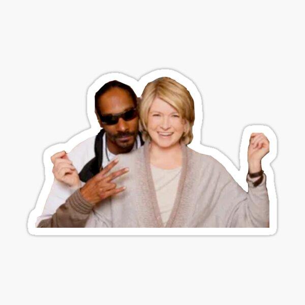 snoop and martha  Sticker