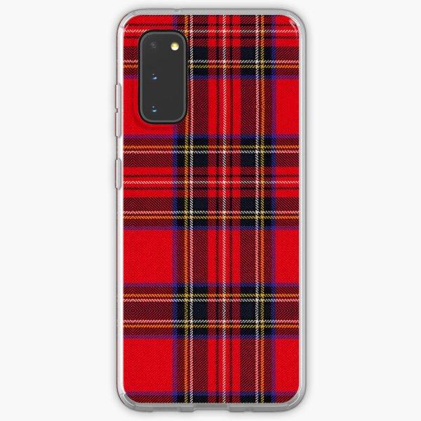 Royal Stewart Tartan Samsung Galaxy Soft Case