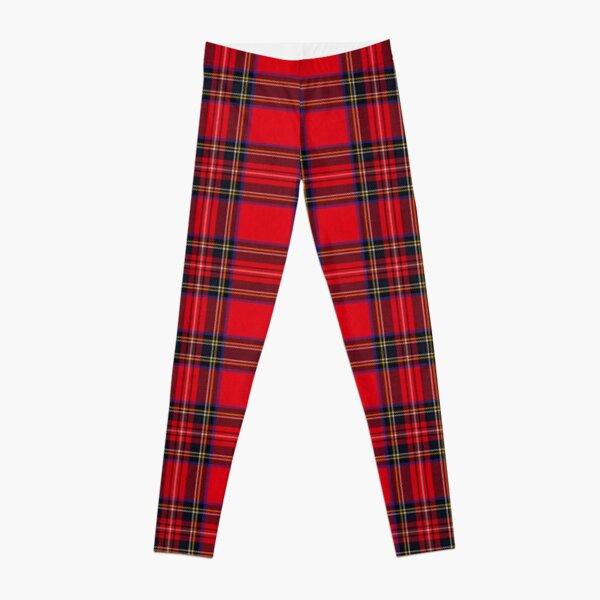 Royal Stewart Tartan Leggings