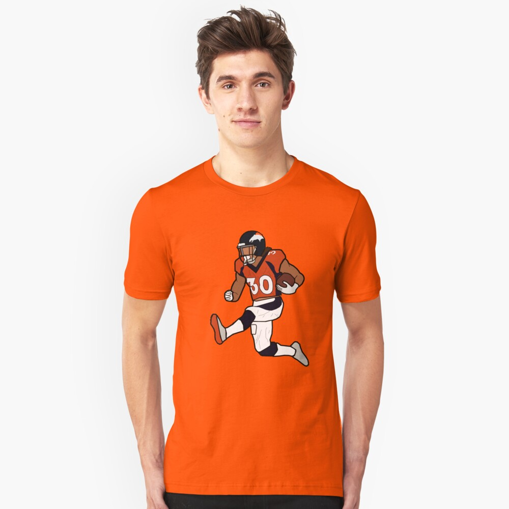 Broncos Fit Phillip Slim - Lindsay Denver T-shirt Touchdown Celebration|The Wearing Of The Green (and Gold): Auction Gold