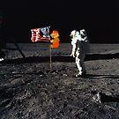 «Super Mario en la luna» de greatskybear