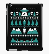 Paranormal Christmas Sweater iPad Case/Skin
