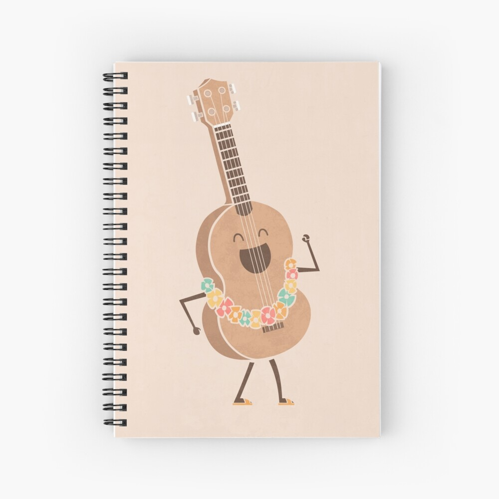 Always Happy Spiral Notebook