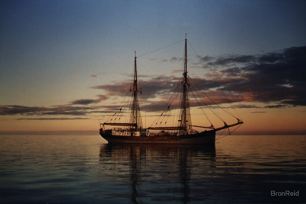 The Failie, training sailing ship, South Australia by BronReid