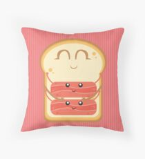 Hug the Bacon Throw Pillow