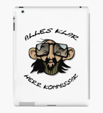 All right, Commissioner Witzig Gag Gift iPad Case/Skin