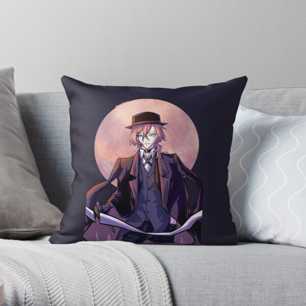 chuuya Throw Pillow