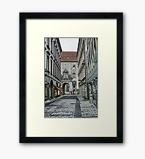 Munich Back Streets Framed Print