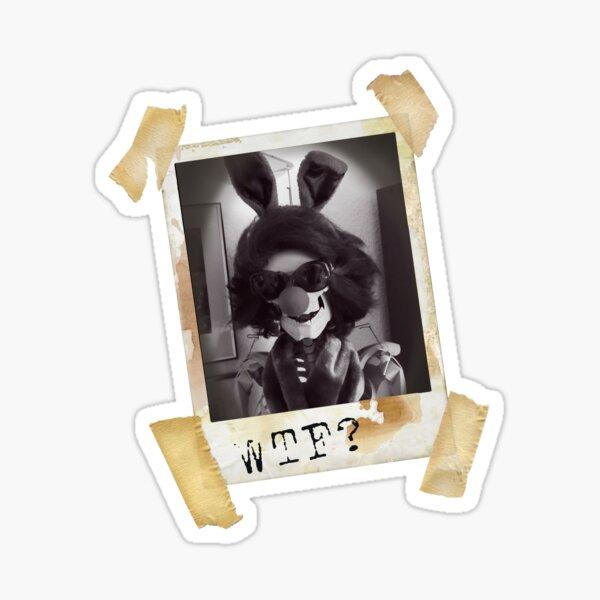 lunatic sbapshot   WTF Sticker
