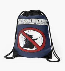 No magic allowed Drawstring Bag
