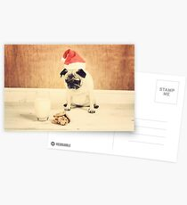 Honey is Santa Postcards