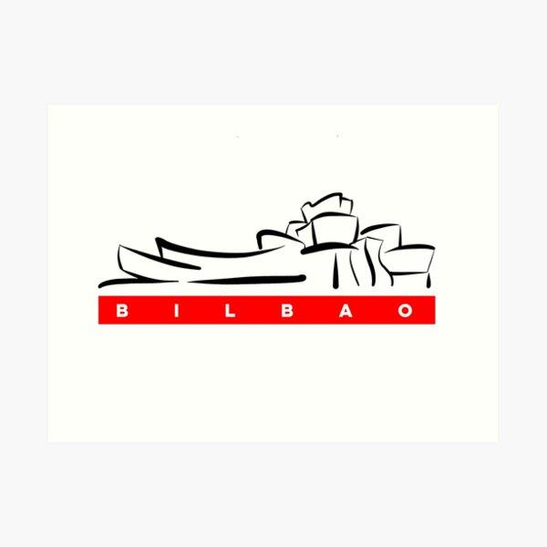 Bilbao | Museo Guggenheim | Pais Vasco Lámina artística