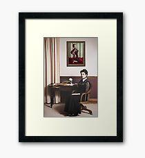 Thomasina loved her Spaghetti Framed Print