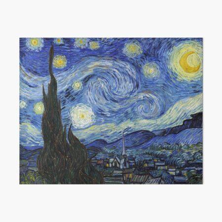 Starry Night, Van Gogh Art Board Print