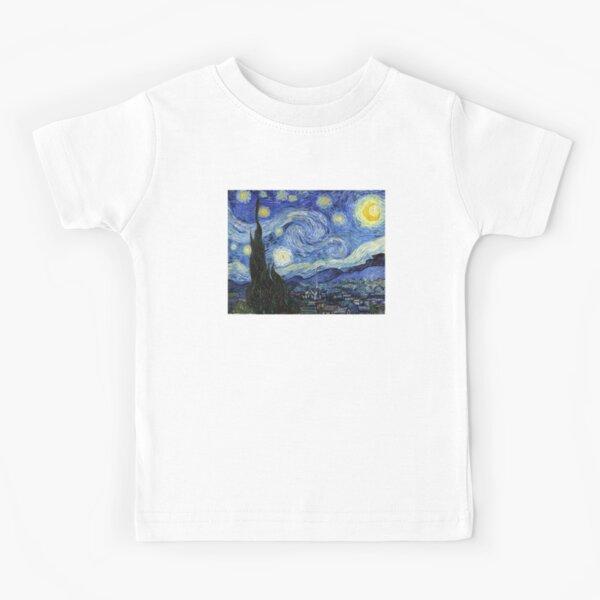 Starry Night, Van Gogh Kids T-Shirt