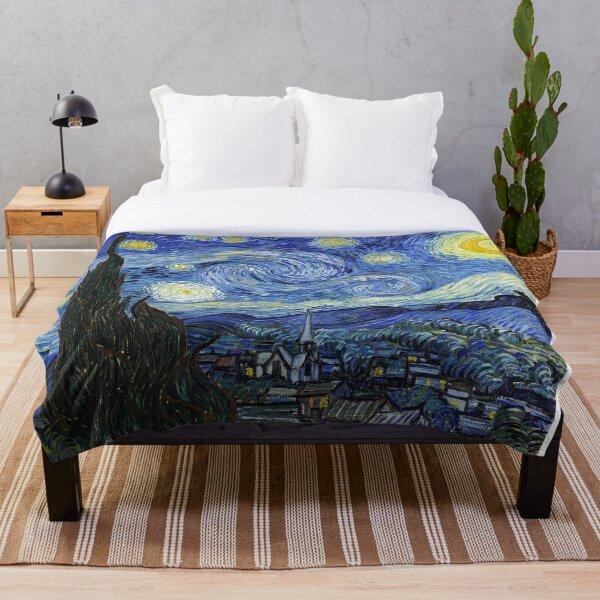 Starry Night, Van Gogh Throw Blanket