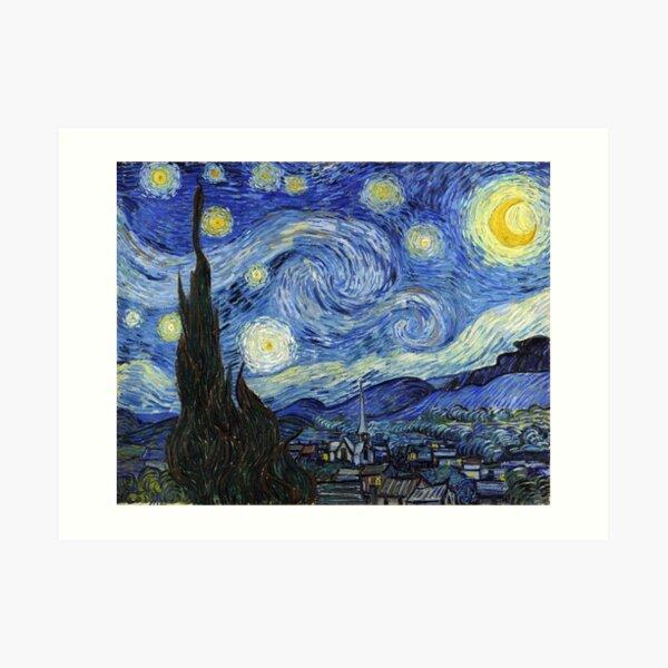 Starry Night, Van Gogh Art Print
