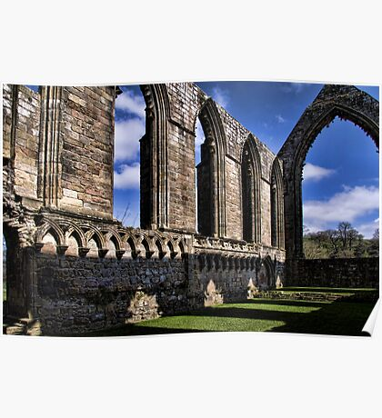 Bolton Abbey Priory Ruins Poster