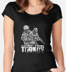Escape From Tarkov Women's Fitted Scoop T-Shirt