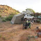 Camp site at Baladjie Rock by BigAndRed