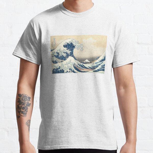 The Great Wave of Kanagawa of Hokusai Classic T-Shirt