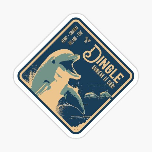 Dingle Kerry Ireland T-Shirt Sticker Magnet 1 Sticker