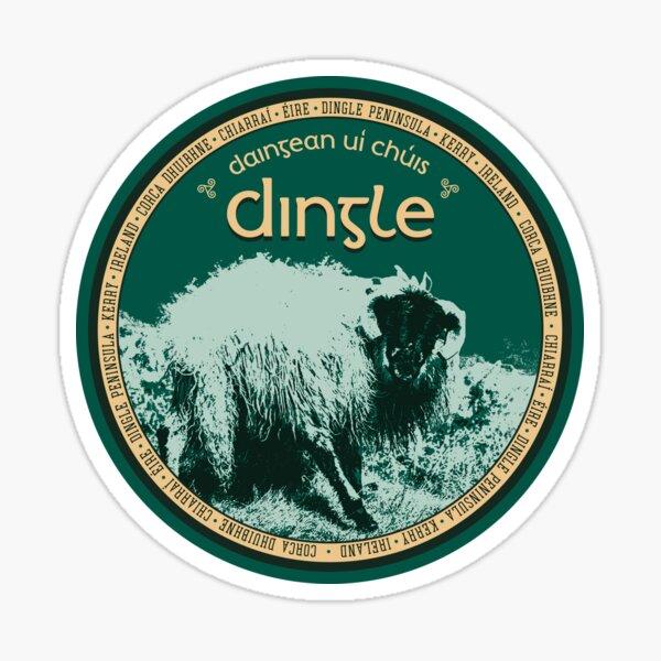 Dingle Kerry Ireland T-Shirt Sticker Magnet 2 Sticker