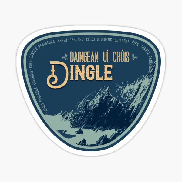 Ireland - Dingle Peninsula T-Shirt + Sticker 3 Sticker