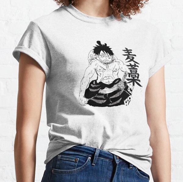 Luffy Wano Kuni - One Piece Classic T-Shirt