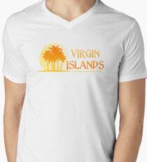 Virgin Islands Paradise Men's V-Neck T-Shirt