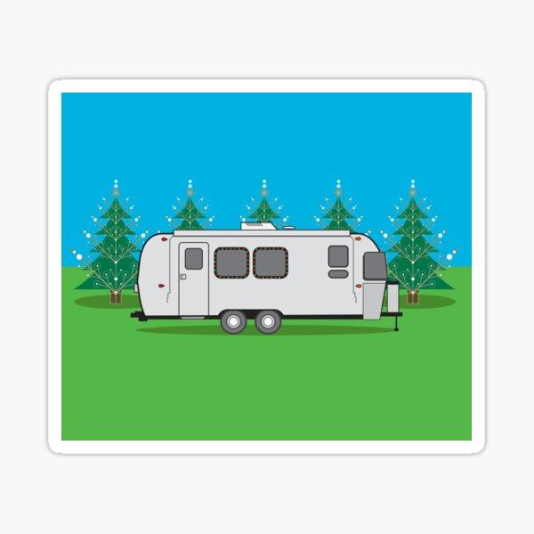 O Airstream Tree! Sticker