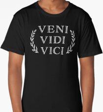 Veni Vidi Vici Caesar Victory Long T-Shirt