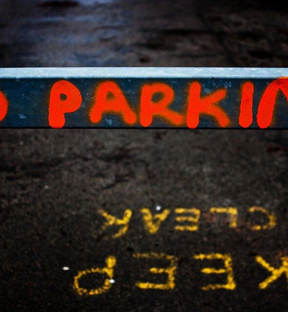 No parking by Mark E. Coward