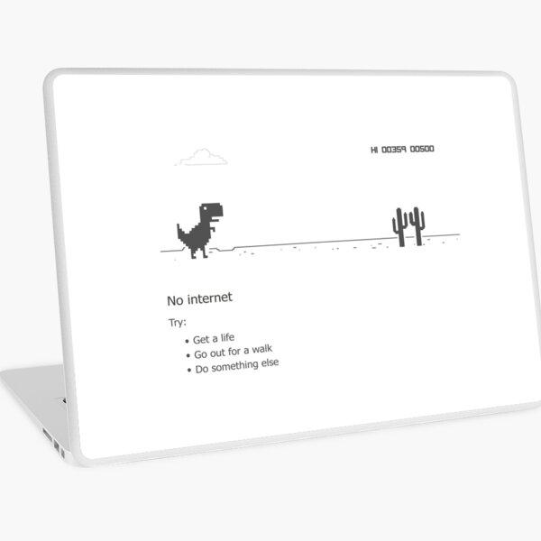 Error dino - no internet connection Laptop Skin