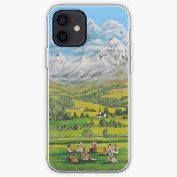 The Sound of Music oil painting iPhone Soft Case